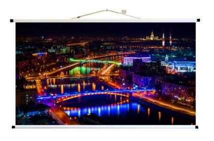 Экран для видеопроектора ПРО-ЭКРАН 125 на 70 см