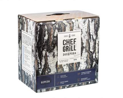 Дрова березовые Chef Grill ЭДБ10Р7 10 кг