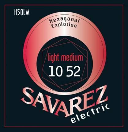Струны для электрогитары Savarez Hexagonal Explosion H50LM 10-52