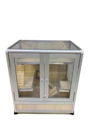 Клетка для всех грызунов Шиншиллкин 70х45х65см на колесах