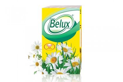 Носовые бумажные платочки Belux 3сл, 10 шт