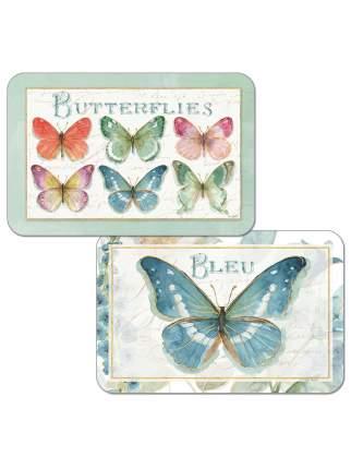 Комплект сервировочных салфеток Conimar Радужные бабочки 4 шт