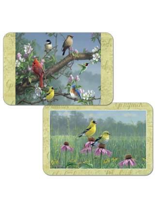 Комплект сервировочных салфеток Conimar Птицы 4 шт