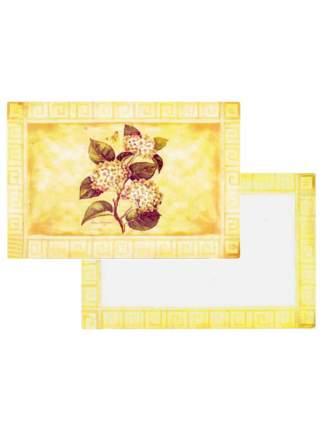 Комплект сервировочных салфеток Conimar Листья и цветы 4 шт