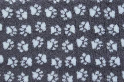 Коврик для собак ProFleece полиэстер, угольный, голубой, 160x100 см