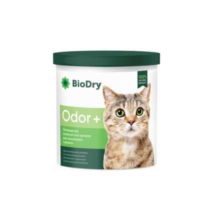 Средства для уборки и дезинфекции мест обитания BioDry Odor, для кошачьего туалета 500г