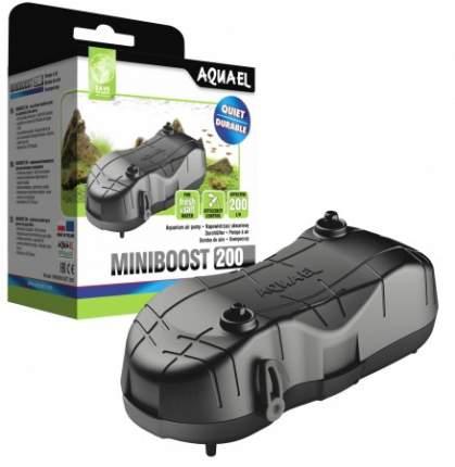 Компрессор для аквариума Aquael Miniboost 200 plus двуканальный, 4