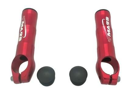 Рога sd-218m, алюминий 6061, d:22,2мм, длина 82мм, вес 58г, красные