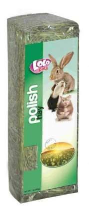 Наполнитель для грызунов LOLO PETS подстилка 0.5 кг антисептик, сено луговое с ромашкой