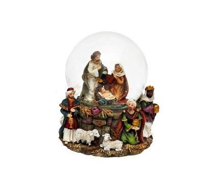 Снежный шар Sigro Святое Семейство 9x7x8,5 см