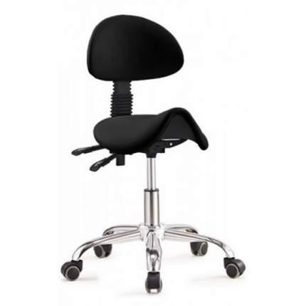 Стул-седло со спинкой Rifforma-20 черный
