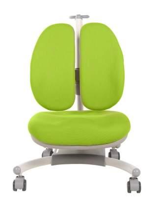 Кресло c двойной спинкой Rifforma-32 зеленое с чехлом
