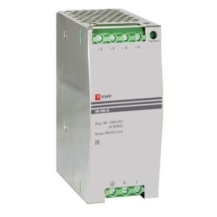 Блок питания 24В DR-75W-24 EKF PROxima