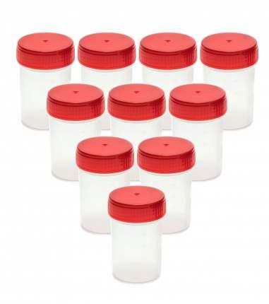 Комплект Баночка для анализов 60 мл стерильная 10 шт.