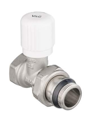 """Клапан радиаторный 3/4"""" ручной регулировки прямой VALOGIN VG-601102"""