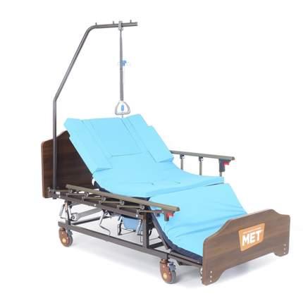 Кровать для ухода за лежачими больными с переворотом, туалетом и матрасом МЕТ REMEKS