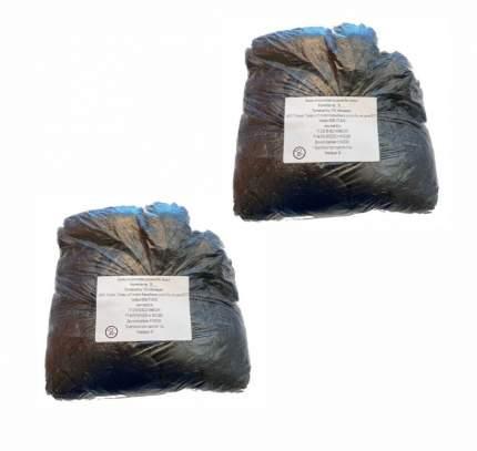 Комплект Бахилы Черные 14х40 см 100 пар