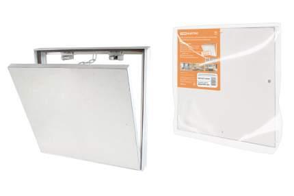 Люк под плитку TDM ELECTRIC алюминиевый, нажимной, 400х400 SQ1807-0608