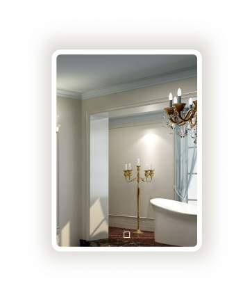 Зеркало La Tezza с LED подсветкой IP - 44, 600х800 (ШВ)  арт. LT-M6080-s
