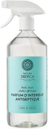 Антисептический спрей санитайзер Natura Siberica парфюмированный для лица и рук 500мл.