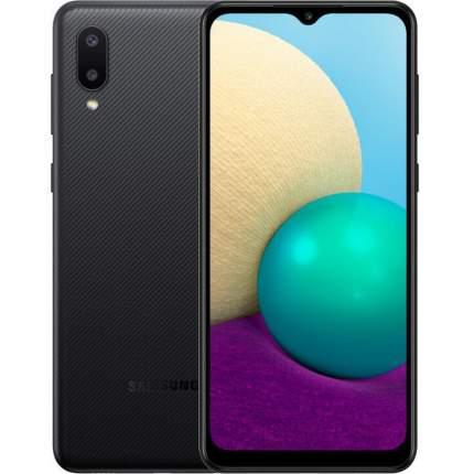 Смартфон Samsung Galaxy A02 2/32GB Black (SM-A022G/DS)