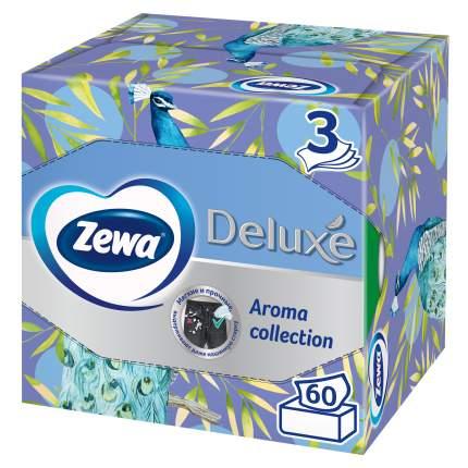 Салфетки бумажные Зева Арома коллекция 60 шт дизайн упаковки в ассортименте