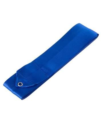 Гимнастическая лента Amely AGR-201 с палочкой 56 см, 6 м, синяя