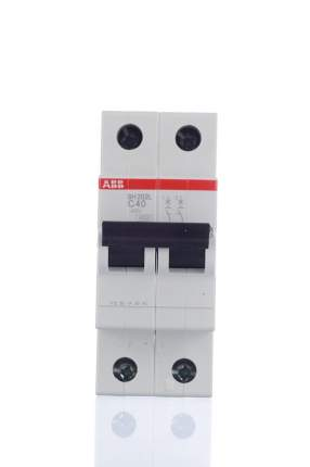 Автоматический выключатель ABB SH202L 2P C63, 4,5kA, 2CDS242001R0634