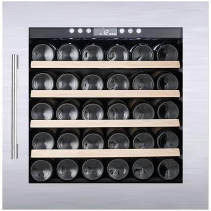 Встраиваемый винный шкаф Temptech OBI60SS Silver