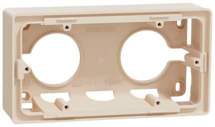 Коробка 2-ая SE Unica New для открытой установки (NU800444) Беж