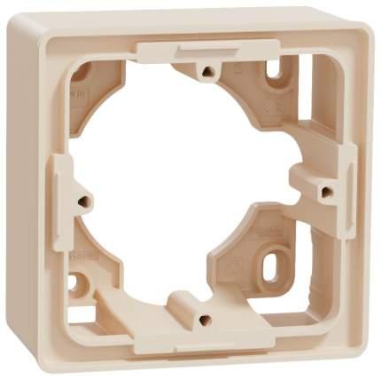 Коробка 1-ая SE Unica New для открытой установки Беж