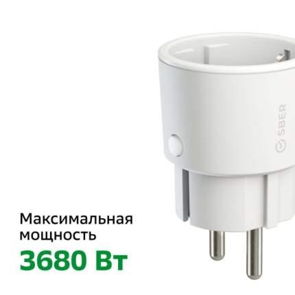 Умная розетка СБЕР/SBER: WiFi/Управление голосом