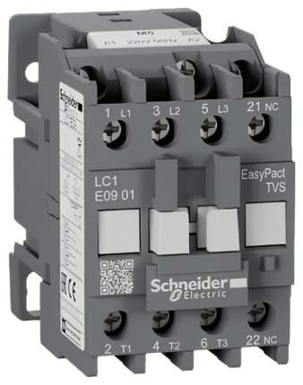 Контактор SE EasyPact TVS TeSys E 3P 1НЗ 9А 400В AC3 220В 50Гц