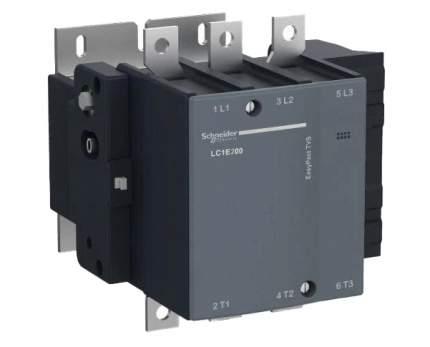 Контактор SE EasyPact TVS TeSys E 3Р 250A 380В AC3 220V AC 50Гц