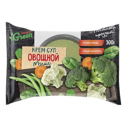 Крем-суп Морозко Green Овощной микс 300 г