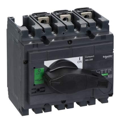 Выключатель-разъединитель SE Interpact INS/INV 3P 250А рукоятка спереди