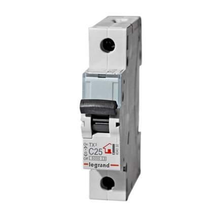 Автоматический выключатель Legrand 1Р 6A (C) 6.0kA TX3