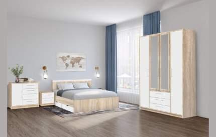 Боровичи-мебель Модульная спальня Вайт