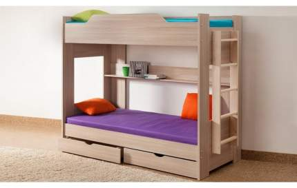 Боровичи-мебель Детская двухъярусная кровать Боровичи, 90х190