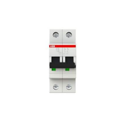 Автоматический выключатель ABB S202 2P 40А (С) 6kA