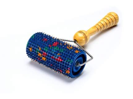 Аппликатор массажер Ляпко Валик Большой М шаг игл 5 мм 61х111мм синий