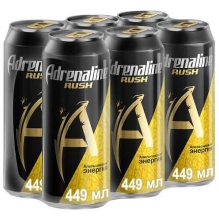 Энергетический напиток Adrenaline Rush Juicy 0,449л*6