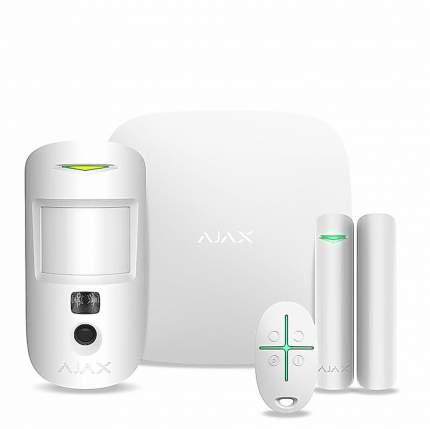Комплект Ajax StarterKit Cam Plus (HubKit Cam Plus) (белый)