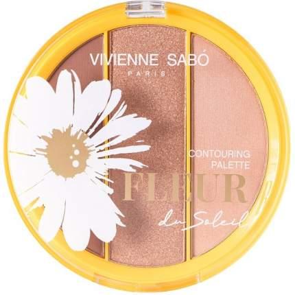 Палетка для лица Vivienne Sabo Fleur du soleil, тон 01