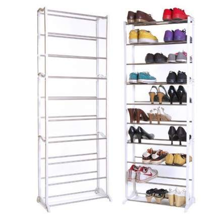 Органайзер стойка для обуви Amazing shoe rack, белый