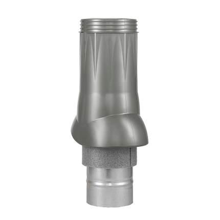 Выход вентиляционный, изолированный D125/160, серый, пластик