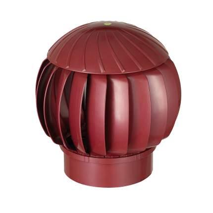 Нанодефлектор (турбина ротационная вентиляционная), D160, малиновый, пластик