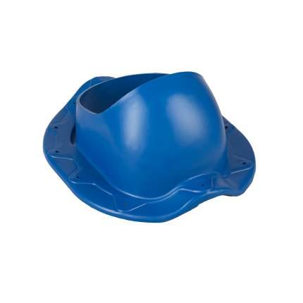 Элемент проходной, для металлочерепицы Monterrey, синий