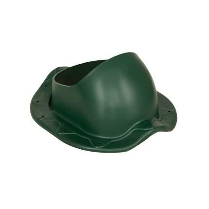 Элемент проходной, для металлочерепицы Monterrey, зеленый