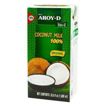 Молоко кокосовое Aroy-D  1л упак 4шт